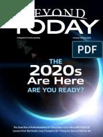 Beyond Today Magazine -- January/February 2020