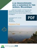 Nvolvimento Sustentavel Do Vale Zambeze