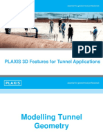 Tunnel Modelling Features in PLAXIS 3D