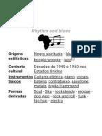 Rhythm and blues – Wikipédia, a enciclopédia livre