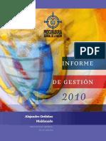 Informe de Gestion PGN 2010
