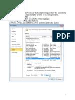 Excel-solveur