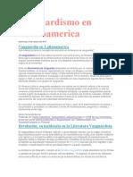 Vanguardismo en Latinoamerica