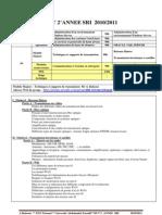Programme DUT SRI 2010 ENS Tetouan