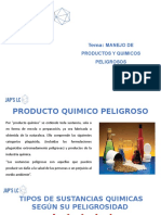 MANEJO DE PRODUCTOS Y QUIMICOS PELIGROSOS-JAPS