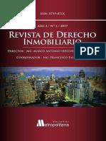 LA POSESIÓN DE LOS INMUEBLES INSCRITOS Y SU TUTELA JUDICIAL BREVE ANÁLISIS JURISPRUDENCIAL ricardo saavedra alvarado (1).pdf