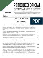 Periodico Oficial Guanajuato 31 Diciembre