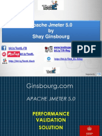 Ginsbourg.com - Presentation of Performance & Load Testing Validation 2019