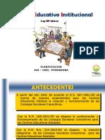 Consejos Educativos Institucionales.ppt