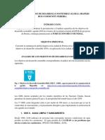 INFORME OBJETIVOS DE DESARROLLO SOSTENIBLE GLOBAL SHAPERS HUB COMMUNITY PEREIRA