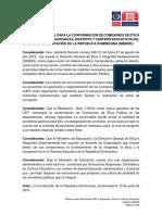 Estatuto Especial para la Conformacion de CEP en las Direcciones Regionales Distritos y Centros de Educacion MINERD (versión final)