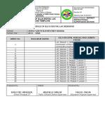 ELLND2  SH Schedule of ELLN Digital LAC Sessions