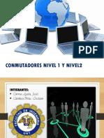 CONMUTADORES - PRESENTACION
