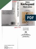 Kierkegaard, Soren - Diario Íntimo