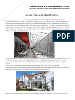 The Sun Room Types and Classification