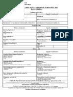 Plan de estudios Agronomía 2017 FAUBA