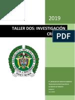 Cuestionario manual de cadena de custodia 2019