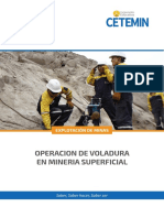 OPERACION DE VOLADURA EN MINERIA SUPERFICIAL - TEM