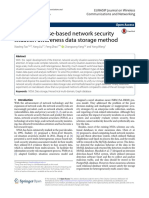 Graph database-based network security