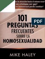 101 Preguntas Frecuentes sobre La Homosexualidad - Mike Haley
