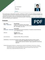 Curriculum Vitae Oficial - PDF
