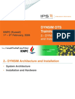 02 - DYNSIM Architecture and Installation
