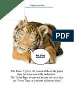 Trump the Tweet Tiger