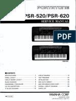 Yamaha Psr 520 - Psr 620