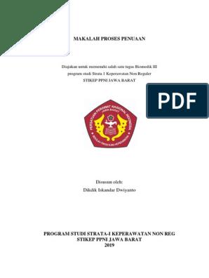 biomedik iii penuaan scribd
