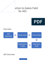 Introduction to Galois Field for AES