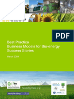 Business Models for Bionergy - Success stories