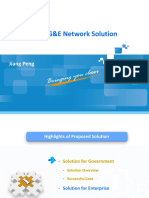 Overview of ZTE G&E Network Solution