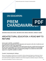 ARCHITECTURAL EDUCATION_ A ROAD MAP TO REFORM _ MATTER