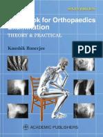 Kaushik Banerjee Orthopaedics