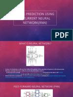 Stock prediction using Recurrent neural network(RNN)