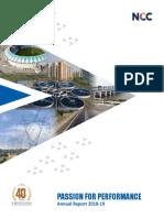 NCC Annual Report - 2018-19 - FINAL