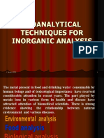 bioanalytical method for metals