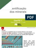 CienTic7- B3 Identificação de Mineriais