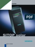 Manual Inversor SITOP Solar
