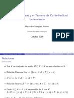 Teorema Curtis Hedlund generalizado