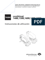 TASKIcombimat 1800 Manual Operador
