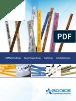 BORIDE Engineered Abrasives 2017 Catalog
