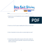 Drysuit Diving Knowledge Review