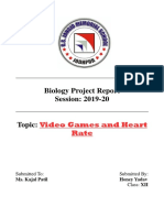biology class 12 project