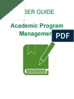 SHS Curriculum Management