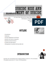 SUICIDE RISK AND ASSESSMENT OF SUICIDE-1