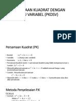 pert 9 dan 10- PERSAMAAN KUADRAT.pptx