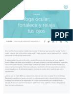 Yoga ocular_ fortalece y relaja tus ojos