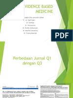 tugas EBM perbedaan jurnal Q1 dan Q3