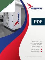 Hightest - TTS 125-3300, Transformer Test System - TTS 125-3300_v120191007